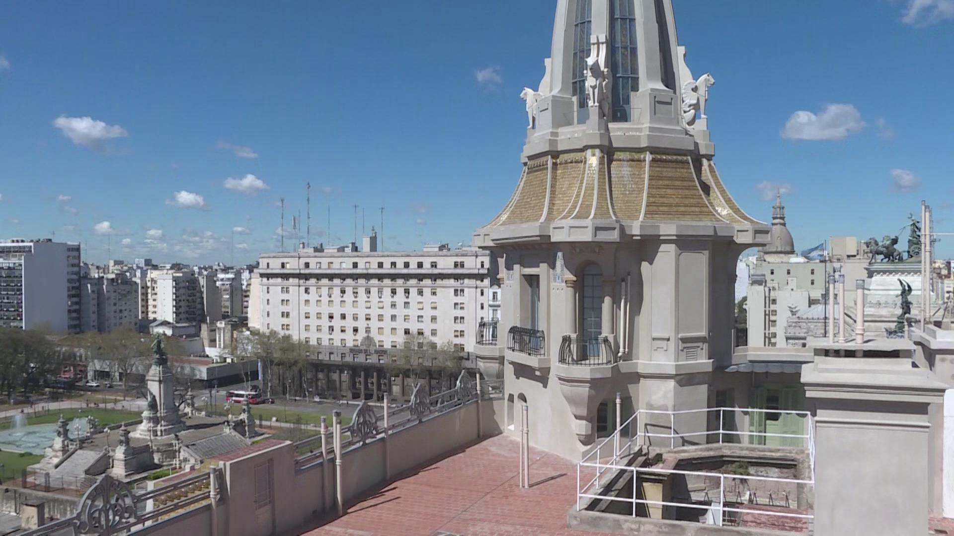 Restauradores de Argentina ponen en valor primer edificio Art Nouveau del país