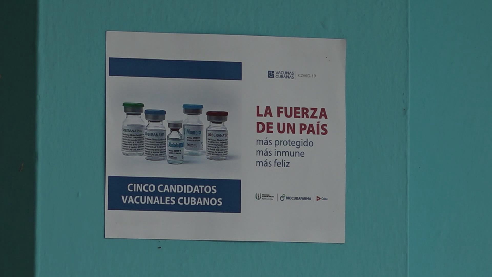 Cuba realiza vacunación a niños y adolescentes contra COVID-19