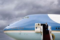 ¡Bienvenido a bordo del Air Force One!